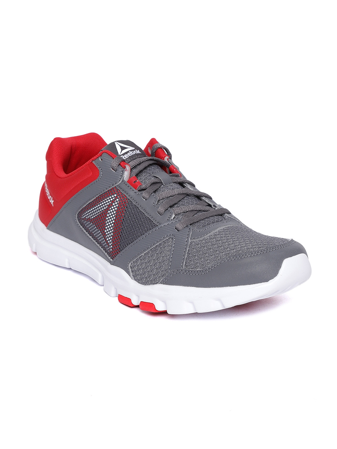 49112ebc6aa560 Buy Reebok Men Grey YOURFLEX TRAIN 10 MT Training Or Gym Shoes ...