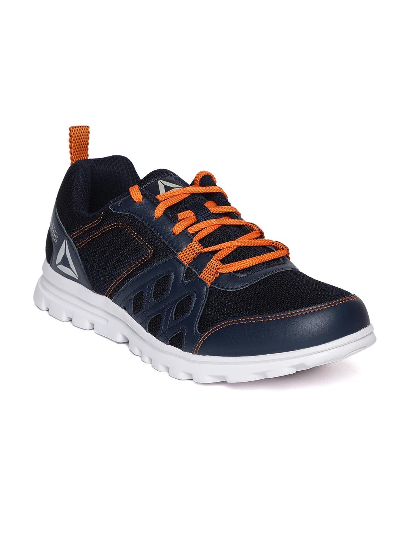 59704d50de8f3 Buy Reebok Men Navy Blue Run Fusion Xtreme Running Shoes - Sports ...