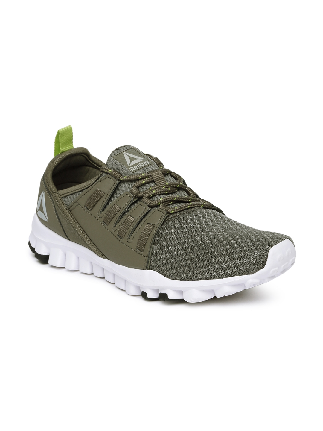 Buy Reebok Men Olive Green   Grey IDENTITY FLEX XTREME Running Shoes ... ec1d41dcf