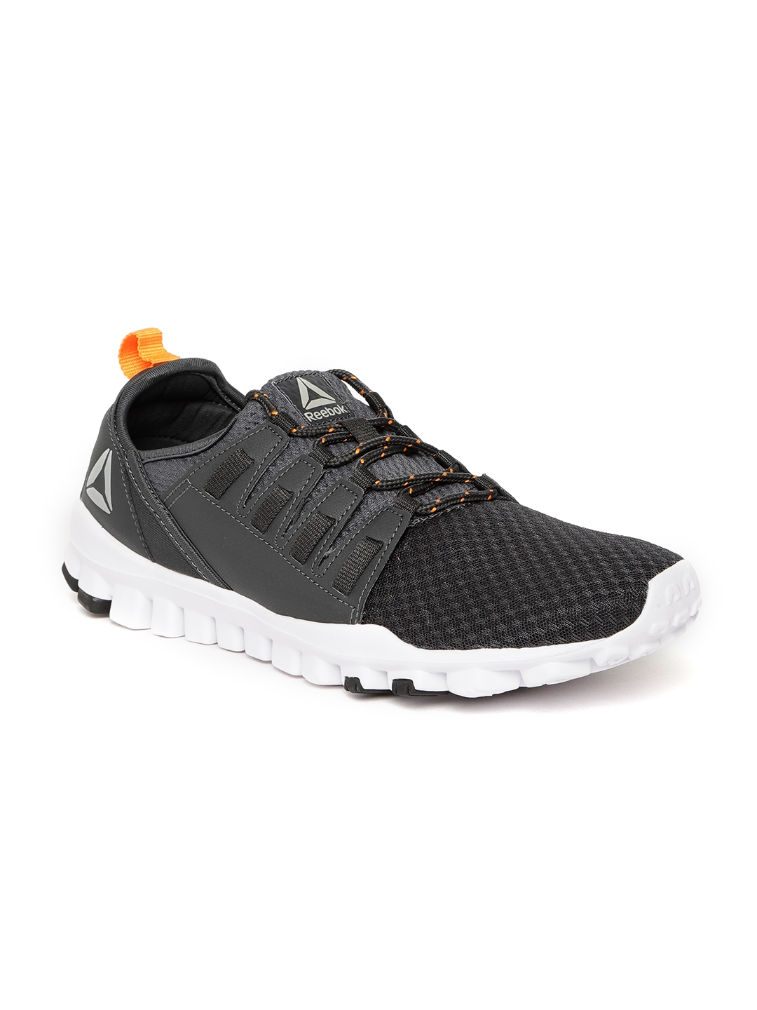 Buy Reebok Men Charcoal Grey Identity Flex Xtreme LP Running Shoes ... df5063a97