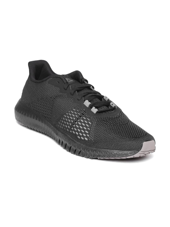 Buy Reebok Men Black FLEXAGON Training Shoes - Sports Shoes for Men ... c3a1bf45f