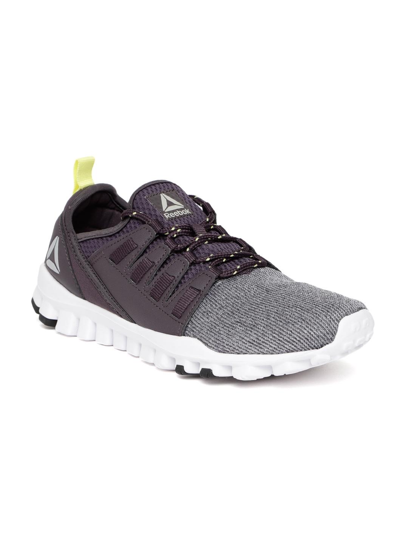 110e397876e6 Buy Reebok Men Purple   Grey Flex O Fusion LP Running Shoes - Sports ...
