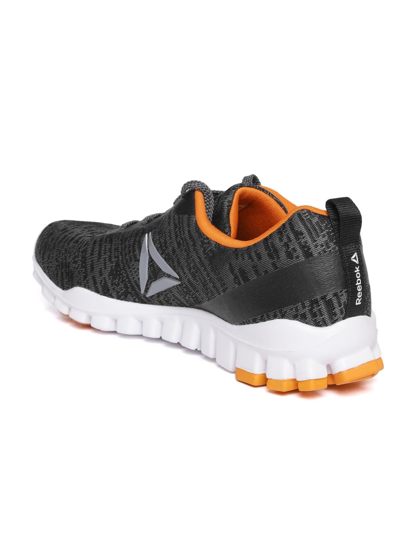 ed5621f6058 Buy Reebok Men Charcoal Grey Harmony Pro LP Sports Shoes - Sports ...