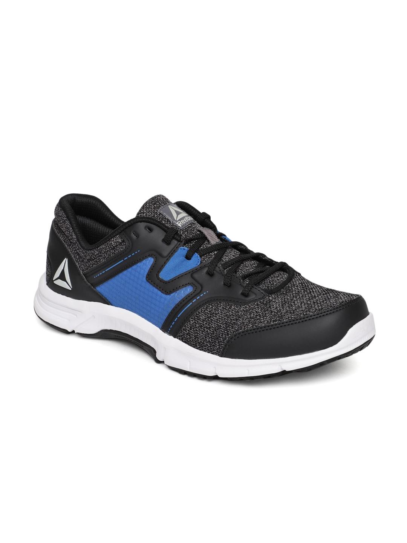 Buy Reebok Men Black   Blue EUPHONY RUNNER LP Running Shoes - Sports ... 279959c3b