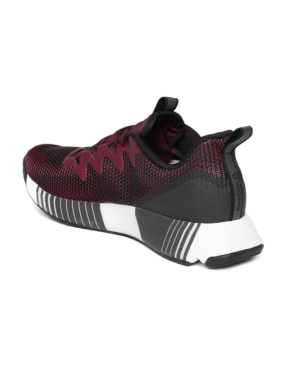 d0bac7076fa Buy Reebok Men Wine Coloured Fusion Flexweave Training Shoes ...