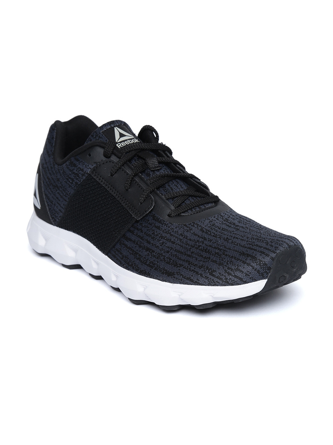 Buy Reebok Men Navy Blue   Black City Scape LP Running Shoes ... 395bf8c64