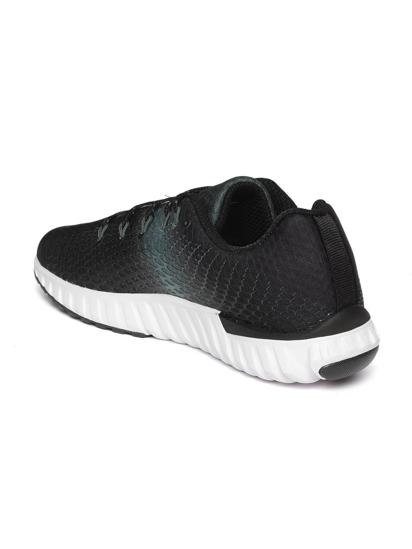 33f1bcdda6516d Buy Reebok Men Black   Green Elite Runner LP Printed Running Shoes ...