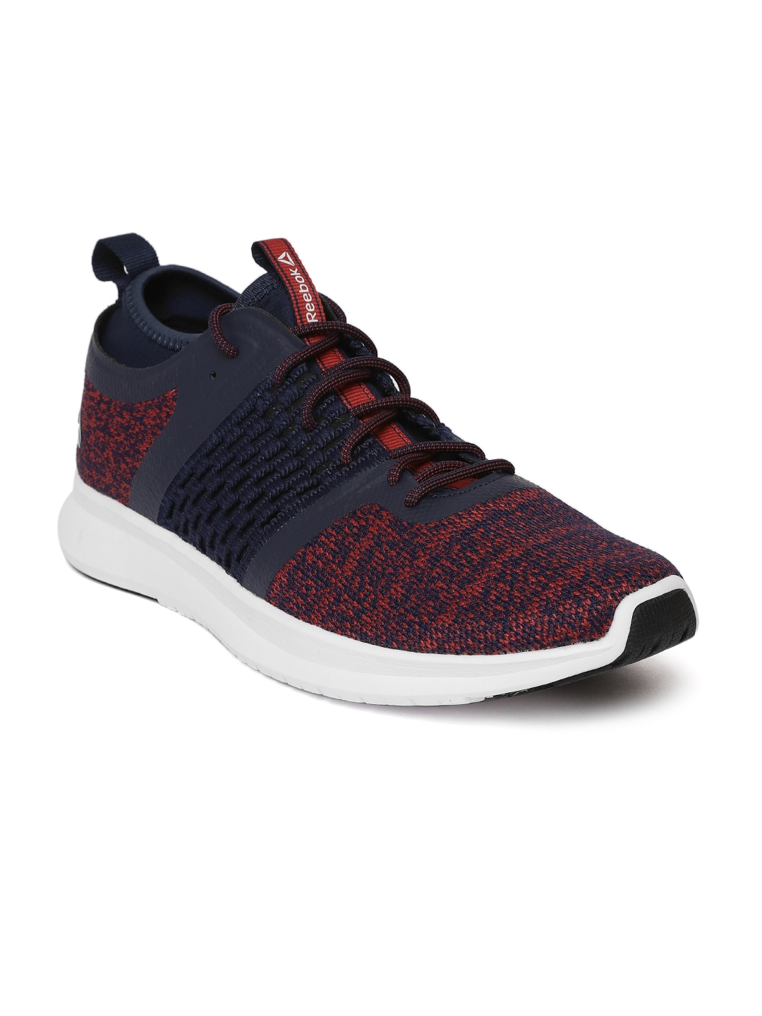 956963eee9c52d Buy Reebok Men Red   Navy Blue Zeal O Ride Patterned Running Shoes ...