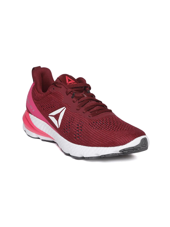 9f18055adb6 Buy Reebok Women Maroon OSR Sweet Road 2 Running Shoes - Sports ...