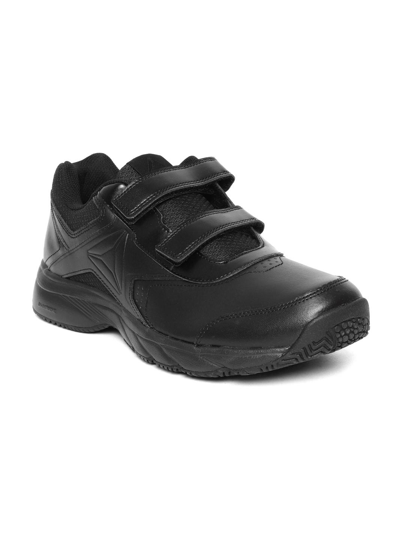 e8131a99d00 Buy Reebok Men Black WORK N CUSHION 3.0 KC Walking Shoes - Sports ...
