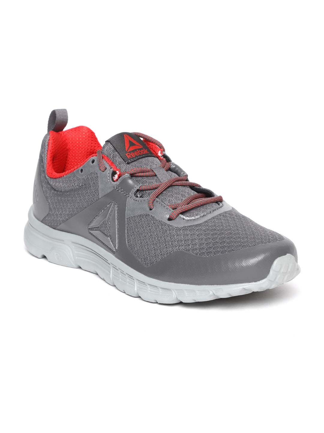 Buy Reebok Men Grey Supreme 4.0 Running Shoes - Sports Shoes for Men ... 1a4cc1dc7