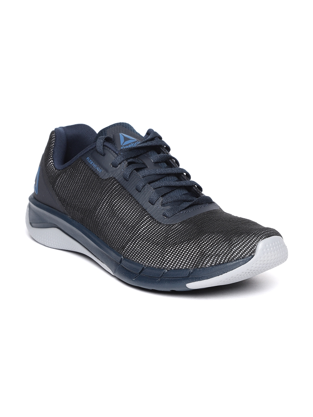 a7ae14f6e059dc Buy Reebok Men Black   Navy Blue Fast Flexweave Running Shoes ...