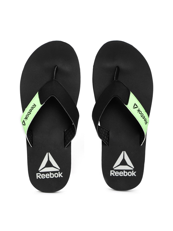 77e4dcd22a4c19 Buy Reebok Men Black Core Solid Thong Flip Flops - Flip Flops for ...