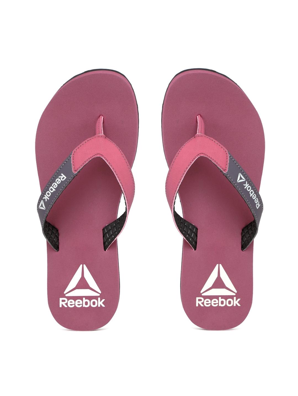 e221085ebd3e75 Buy Reebok Women Mauve Core Solid Thong Flip Flops - Flip Flops for ...