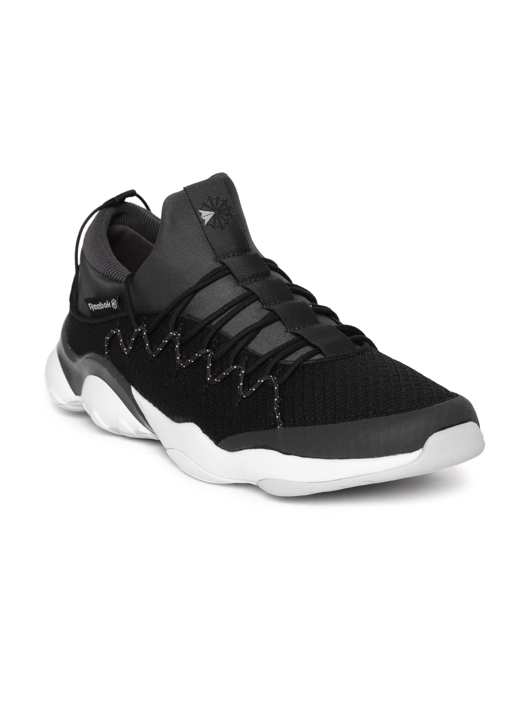 Buy Reebok Classic Unisex Black DMX Fusion Lite Sneakers - Casual ... 594326512