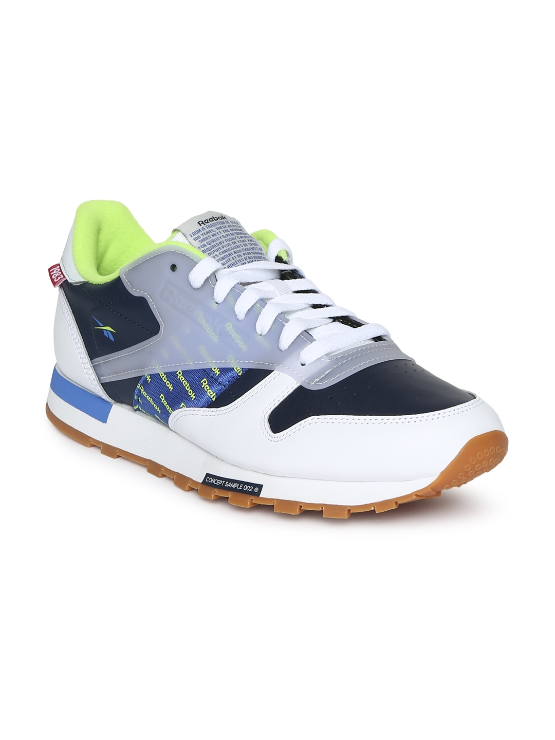 1b41a39af78e Buy Reebok Classic Unisex White Leather Sneakers - Casual Shoes for ...