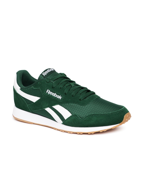 pretty nice 99e21 4117d REEBOK Classic Men Green ROYAL ULTRA Running Shoes