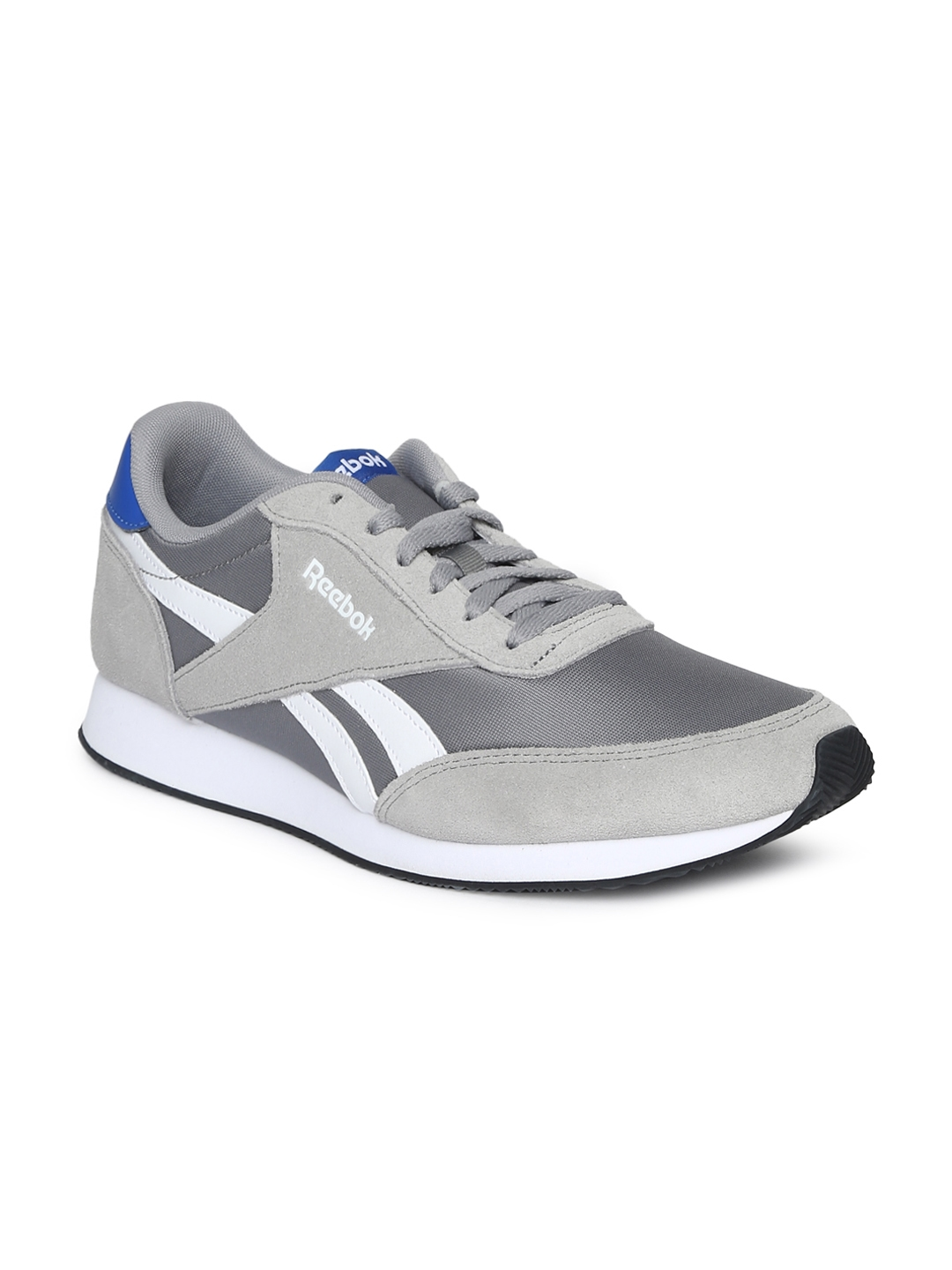 9419a147f979 Reebok Classic Men Grey Royal Cl Jogger Running Shoes Sports