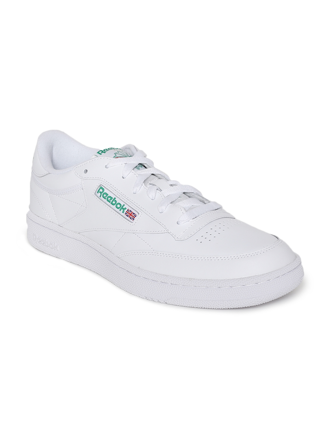 075140e21c5a3 Buy Reebok Classics Men CLUB C 85 White Sneakers - Casual Shoes for ...