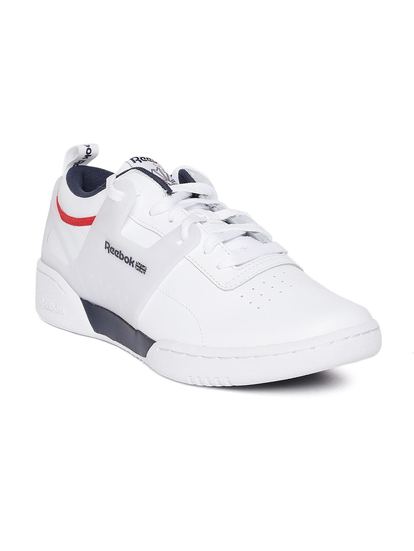 Buy Reebok Classic Men White Workout Advance L Sneakers - Casual ... cfa669b25