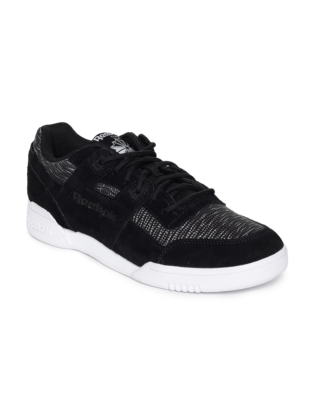 ad29a680195c Buy Reebok Classic Men Black WORKOUT PLUS FW Sneakers - Casual Shoes ...