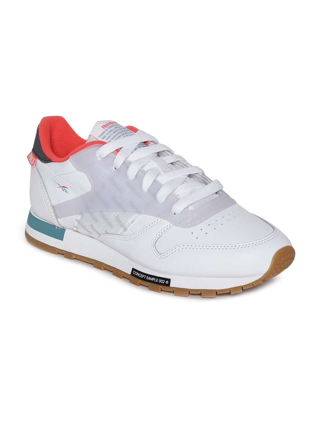 d3654bfd167 Buy Reebok Classic Unisex White CL Leather ATI Perforated Sneakers ...