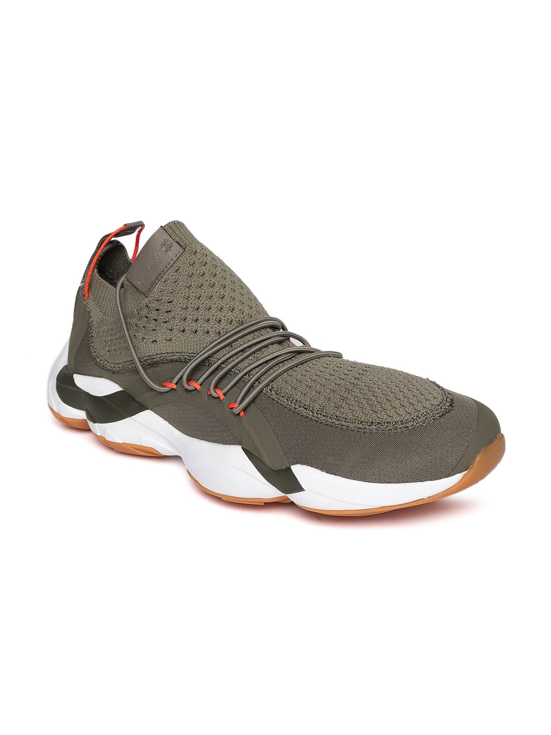 Buy Reebok Classic Unisex Taupe DMX Fusion Patterned Running Shoes ... 0d25626cd