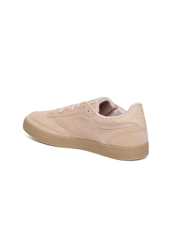 Buy Reebok Classic Women Beige CLUB C 85 FVS Suede Sneakers - Casual ... da70ba82c