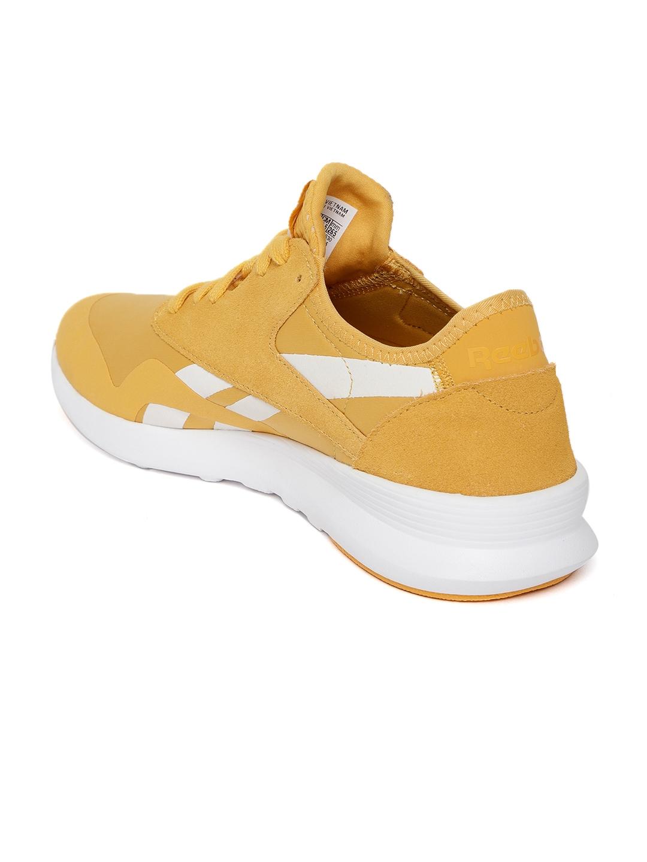 Buy Reebok Classic Women Mustard Yellow Classic Nylon SP Sneakers ... b4137f8be
