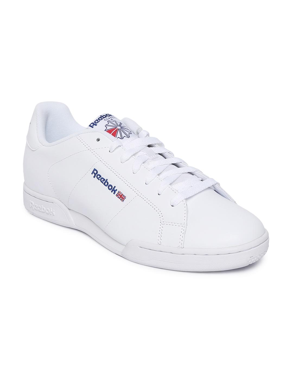 19f6f697e2b Buy Reebok Classic Men White NPC II Sneakers - Casual Shoes for Men ...