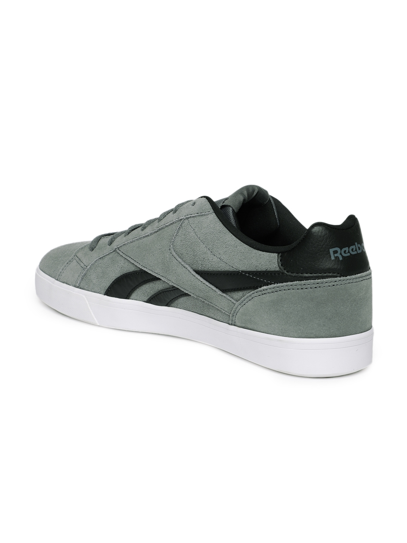 Buy Reebok Men Grey ROYAL COMPLETE 2LS Suede Sneakers - Casual Shoes ... 8766240de