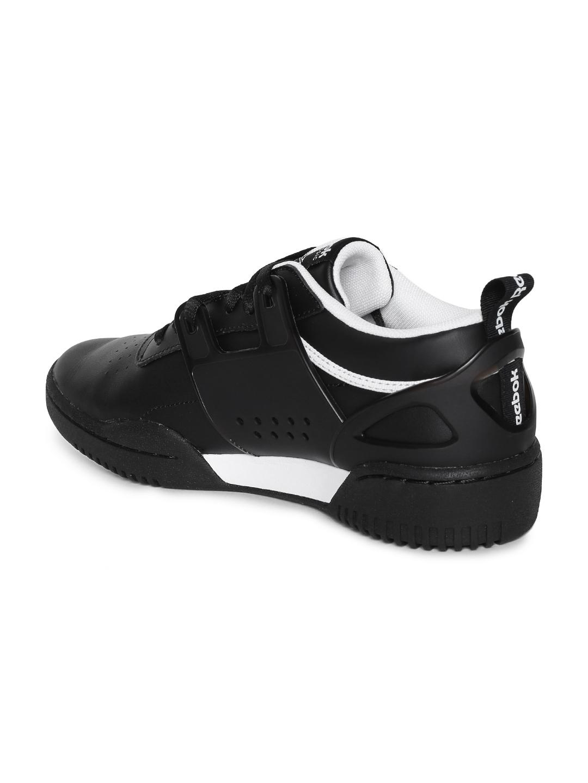 c5f544685ea Buy Reebok Classic Men Black Workout Advance L Sneakers - Casual ...