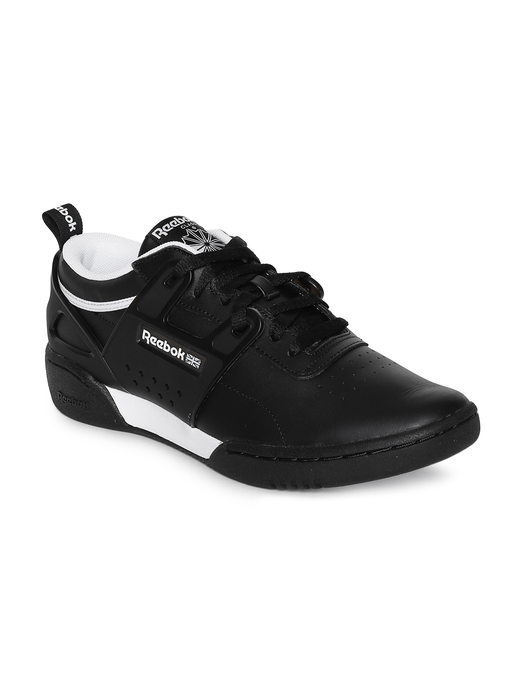 d867ffe483c Buy Reebok Classic Men Black Workout Advance L Sneakers - Casual ...