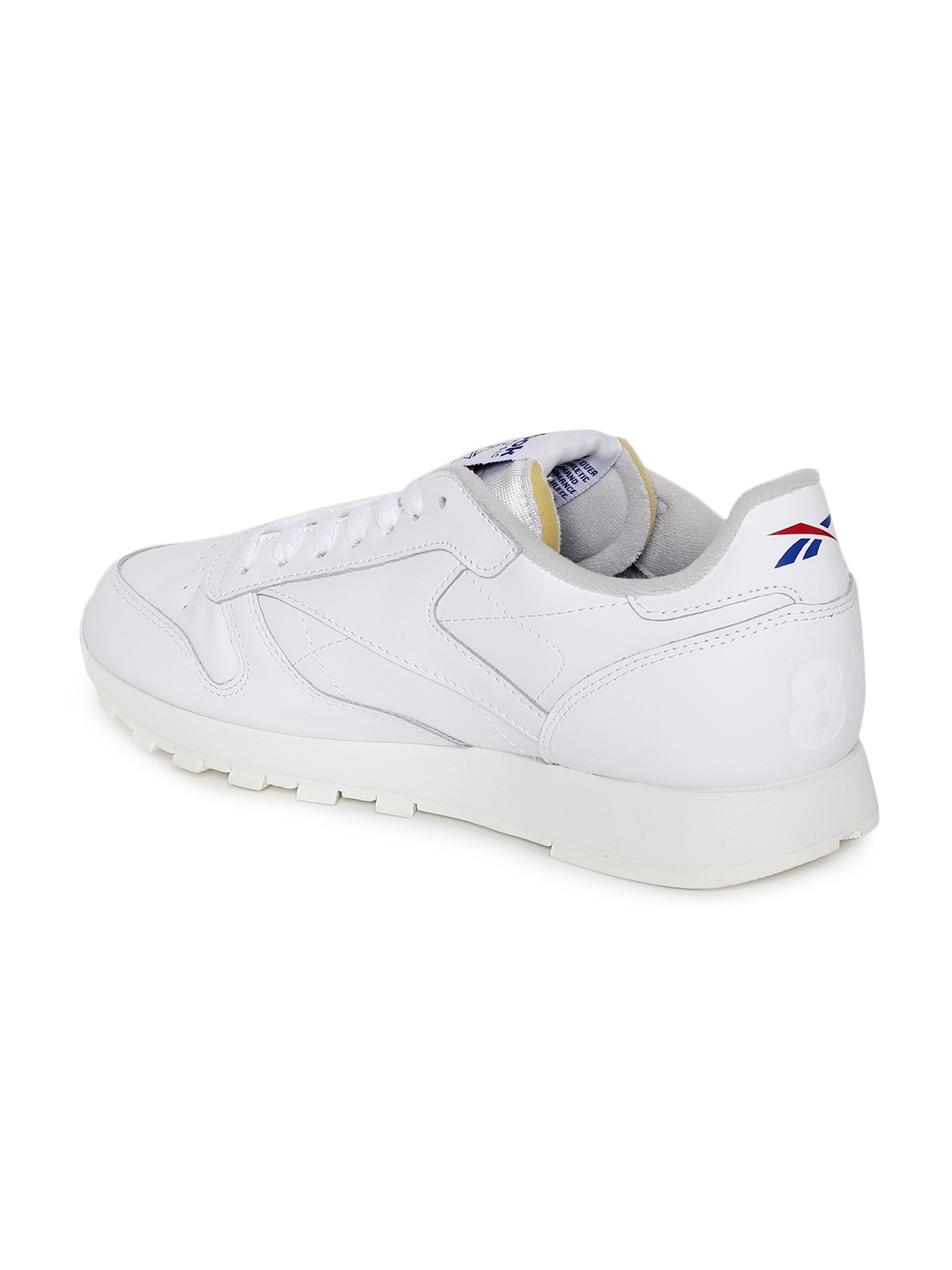 8a56b29e5f2 Buy Reebok Classics Men CL LEATHER MU White Sneakers - Casual Shoes ...