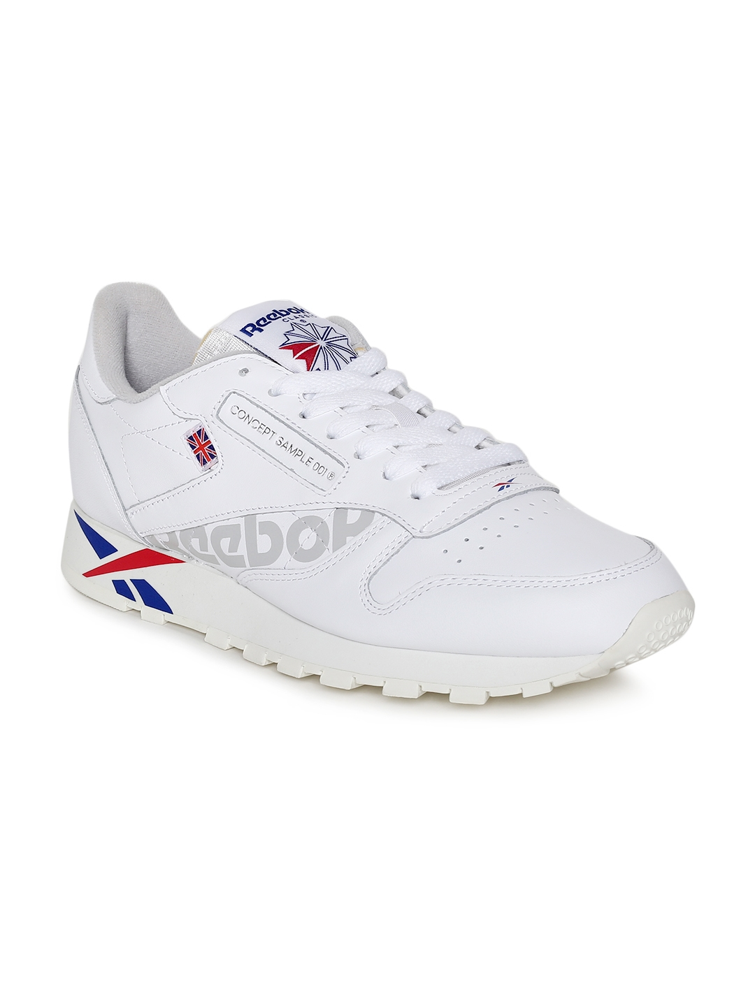 c6e466d7f5f Buy Reebok Classics Men CL LEATHER MU White Sneakers - Casual Shoes ...