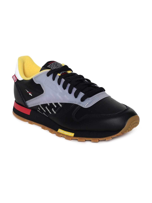 Buy Reebok Classics Unisex CL LEATHER ATI Black Sneakers - Casual ... 07dca46ed