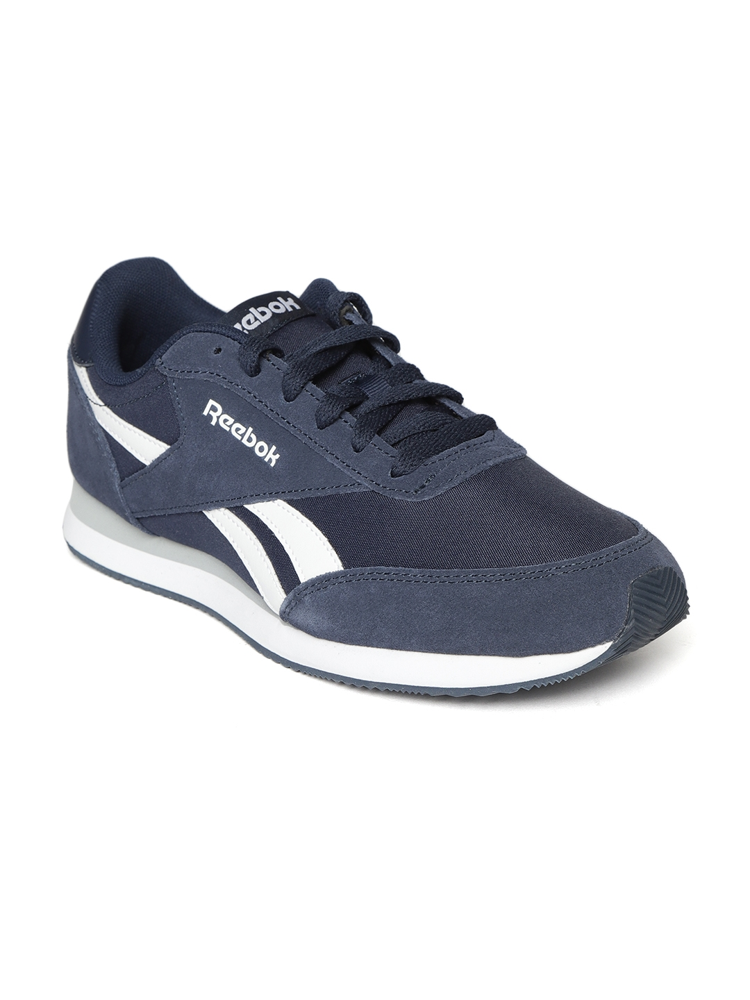 5f1408f84bb1c Buy Reebok Classic Men Navy Royal CL Jogger 2 Sneakers - Casual ...