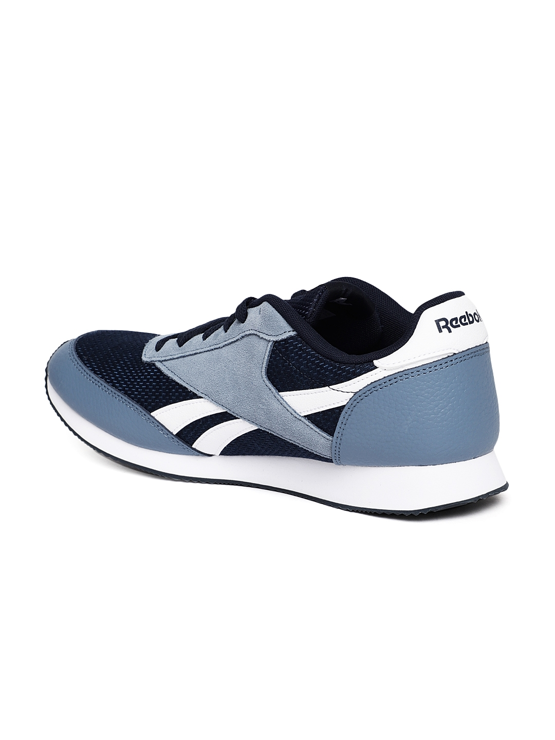 188af63faa4 Buy REEBOK Classic Men Navy Blue ROYAL JOGGER 2 Running Shoes ...