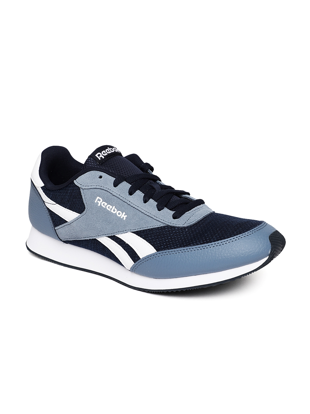 21d47badb2237 Buy REEBOK Classic Men Navy Blue ROYAL JOGGER 2 Running Shoes ...