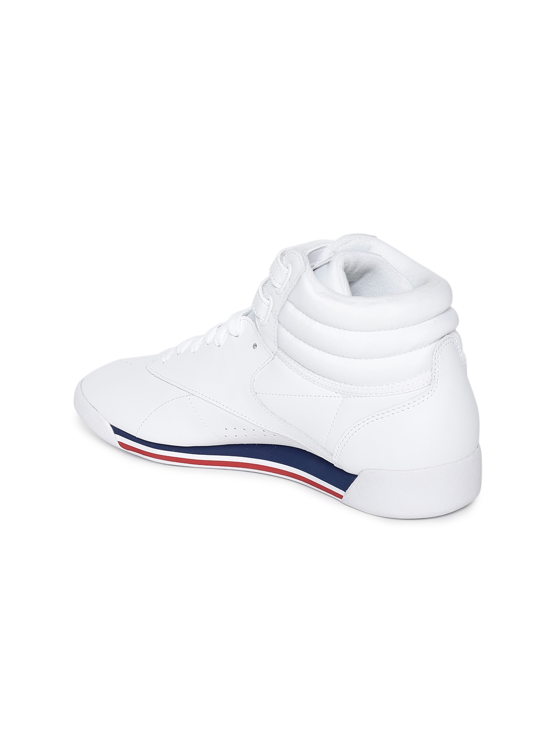 7a16a0030dada Buy Reebok Classic Women White Leather Freestyle Hi Mid Top Sneakers ...