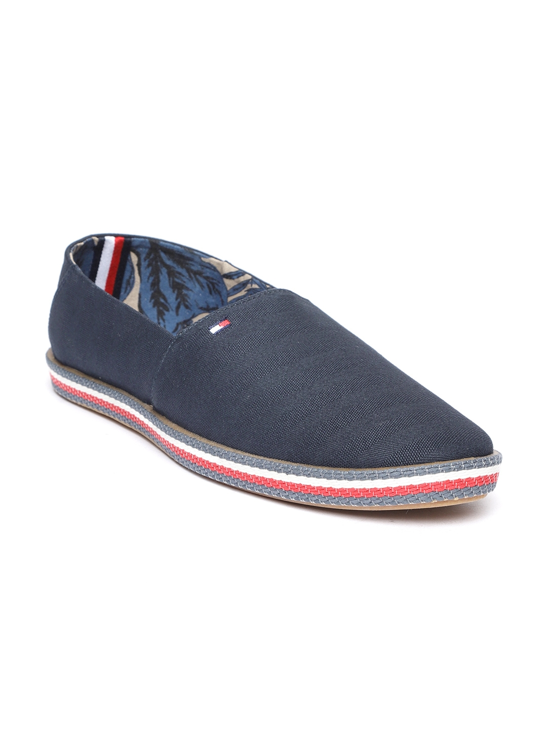 4777e39fd Buy Tommy Hilfiger Men Navy Blue Slip On Sneakers - Casual Shoes for ...