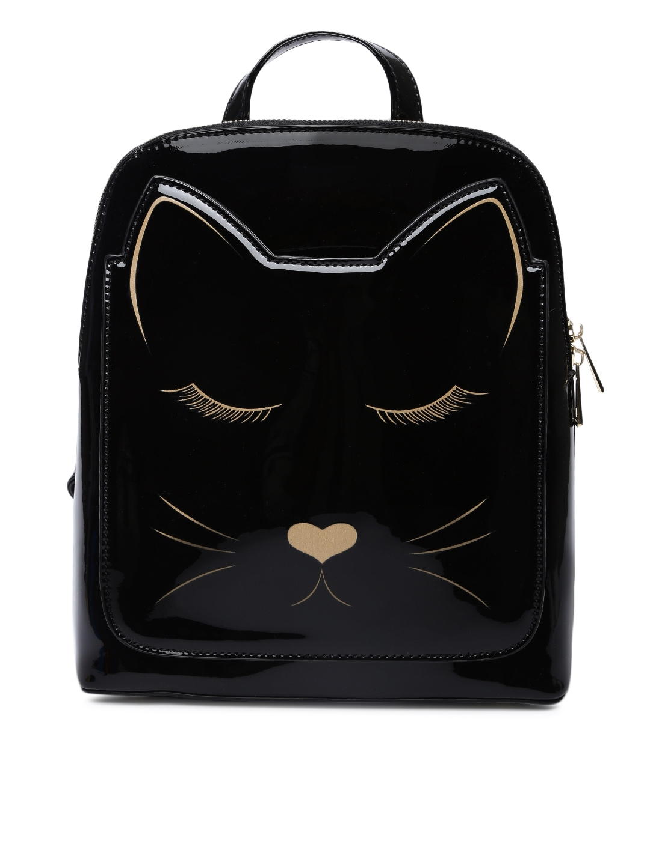 cdd056e0f82 Buy Ginger By Lifestyle Women Black Backpack - Backpacks for Women ...
