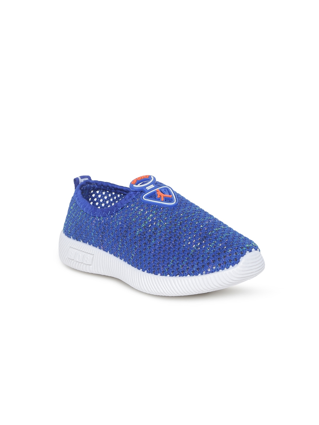 9b9a6f9229 Buy Kittens Boys Blue Slip On Sneakers - Casual Shoes for Boys ...