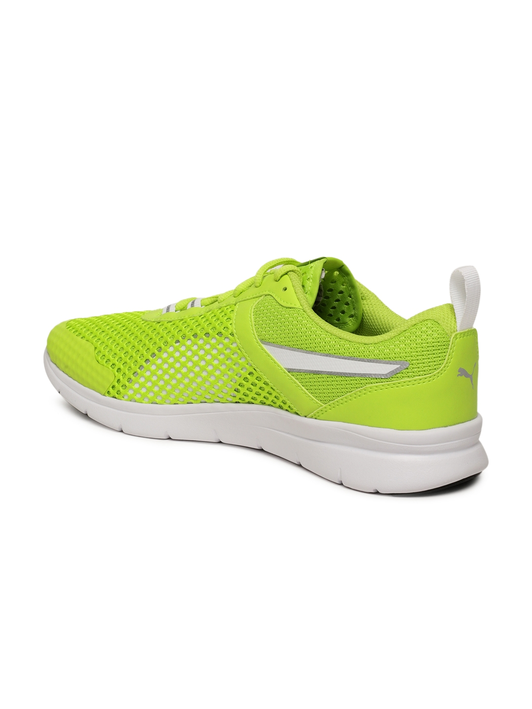 Buy Puma Unisex Lime Green Running Shoes - Sports Shoes for Unisex ... 290b29fb4e86
