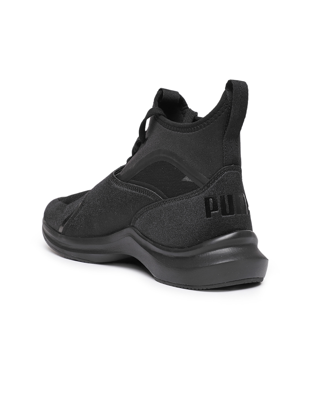 e8d5937e444 Buy Puma Women Black Phenom Wn Mid Top Training Shoes - Sports Shoes ...