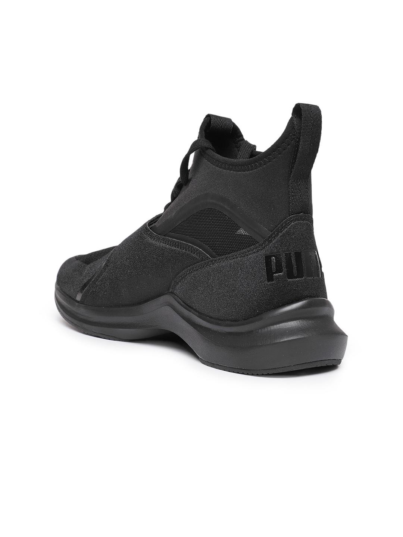 444c187b43dc6d Buy Puma Women Black Phenom Wn Mid Top Training Shoes - Sports Shoes ...