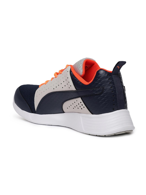 485a1032715dfd Buy Puma Men Blue   Beige ST Trainer Perf V2 Running Shoes - Sports ...