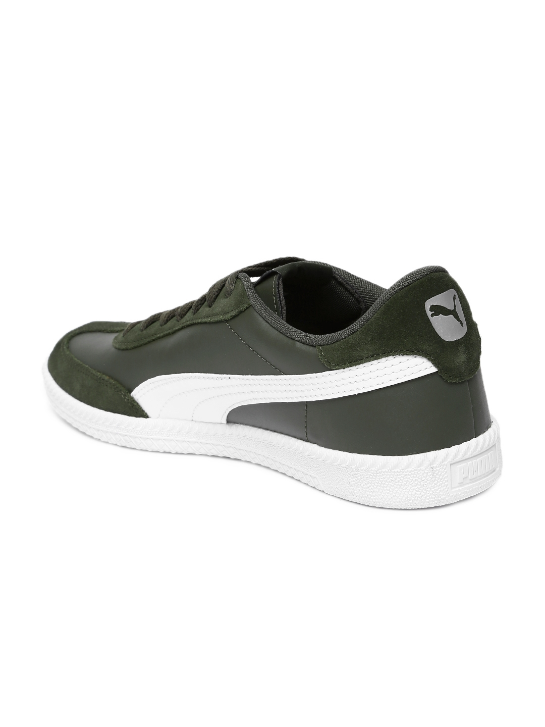 24a744b5ba4 Buy Puma Men Olive Green Astro Cup SL Sneakers - Casual Shoes for ...