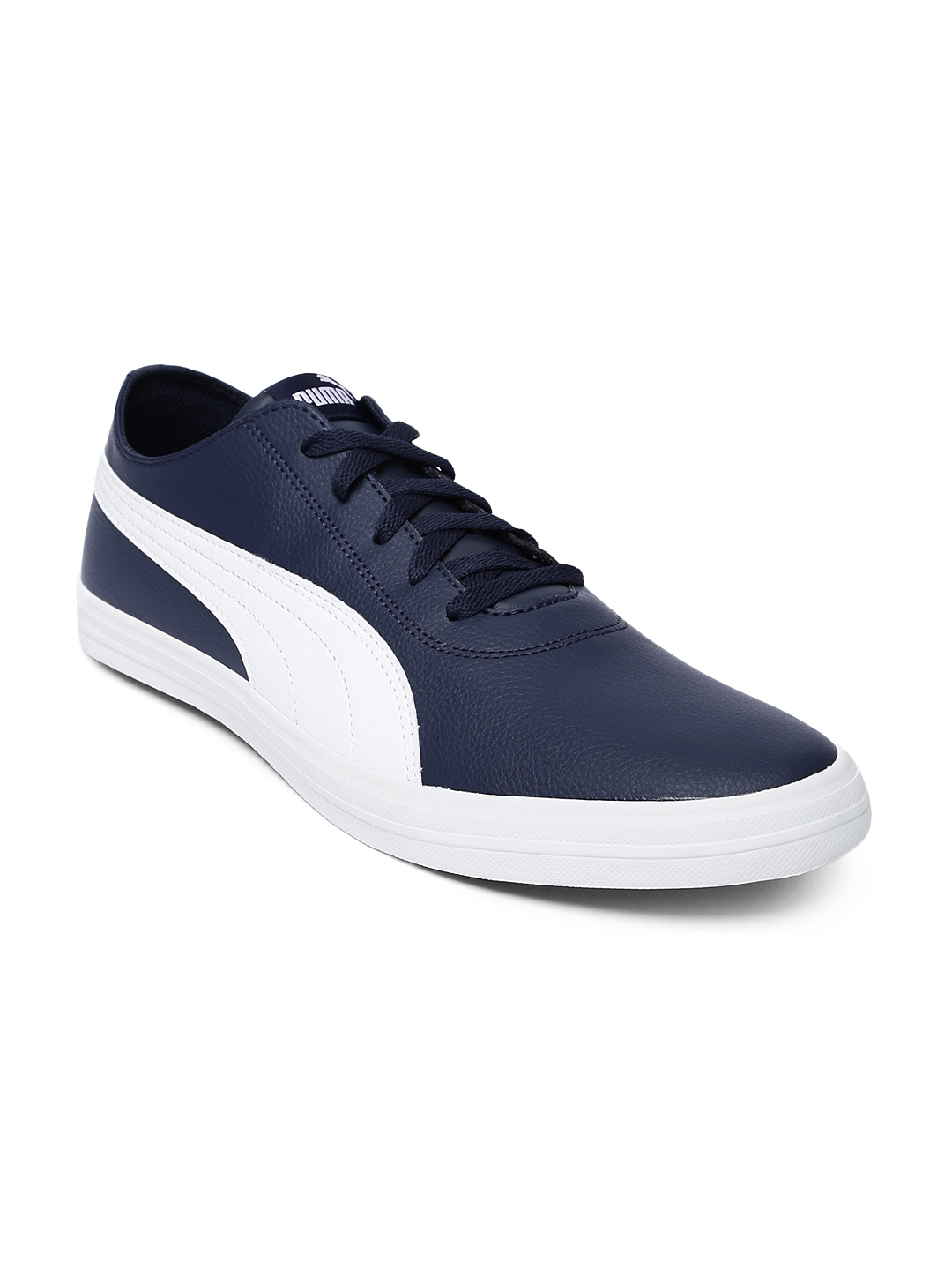 33bd572aa72695 Buy Puma Unisex Navy Blue Urban SL IDP Sneakers - Casual Shoes for ...