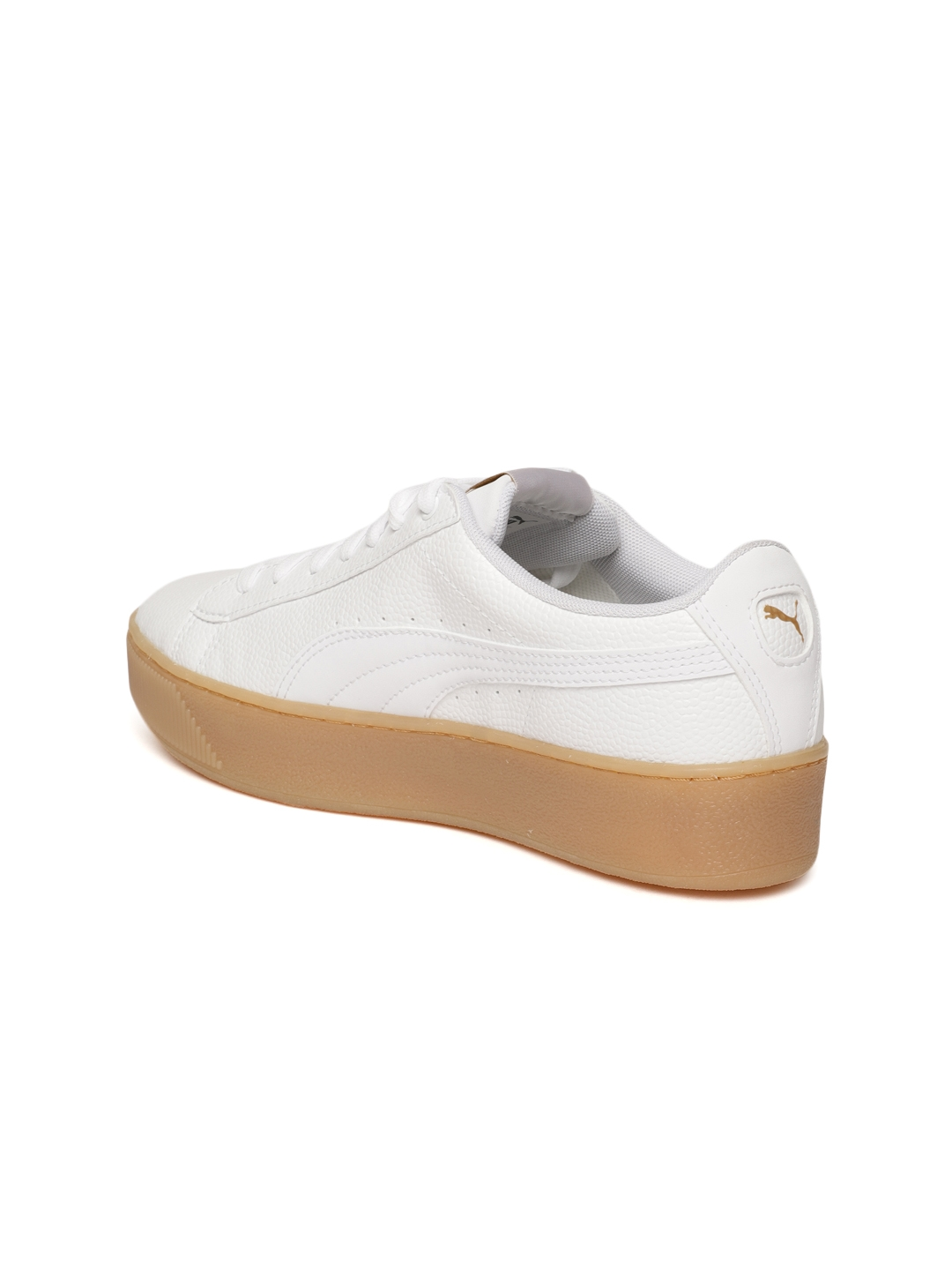 2e2430cf3a4102 Buy Puma Women White Vikky Platform VT Sneakers - Casual Shoes for ...